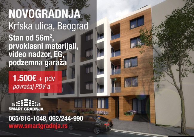 Novogradnja na Zvezdari - Krfska ulica
