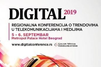 #Digital2019 - Govore: Maja Gojković, ministar Branko Ružić, ambasadori SAD-a, Rumunije i Indije!