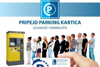 Pripejd parking kartica
