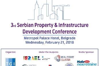 Treća konferencija o razvoju nekretnina i infrastrukture 21. februara