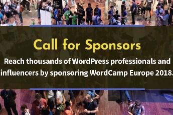 WordCamp Europe 2018 – poziv za sponzore