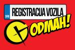 Registracija vozila odmah