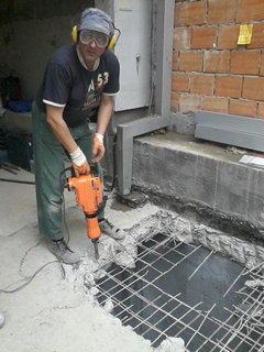 Bušenje i rušenje betona