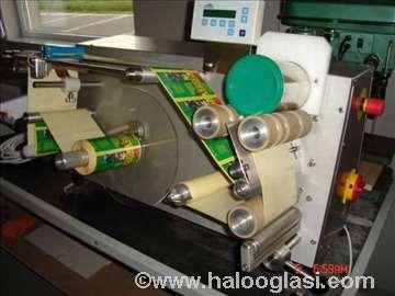 Etiketirka i flekso UV štampa na plastične čaše