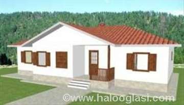 Montažna kuća Stefani 135