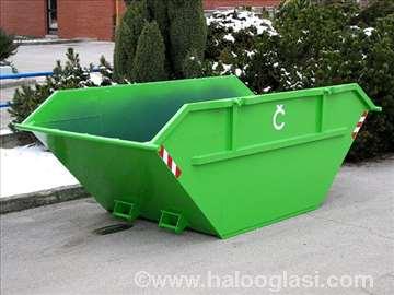 Prevoz građevinskog šuta i smeća