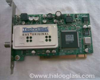 SkyStar2 TechniSat satelitska PCI kartic