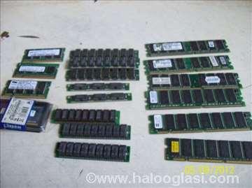 Memorije Edo SDRAM DDR1 DDRr2 SODIMM