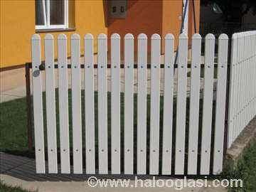 PVC profili ograde - plasticne