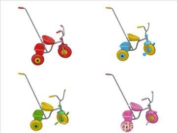 Tricikl-guralica, metalni