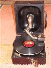 Decca gramofon-fonograf mehan.Portabl