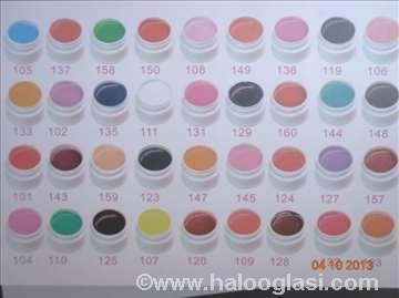 Coco gelovi u boji