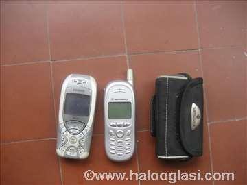 2 mobilna telefona neispitana i futrola