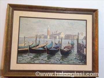 Venecija,ulje na platnu