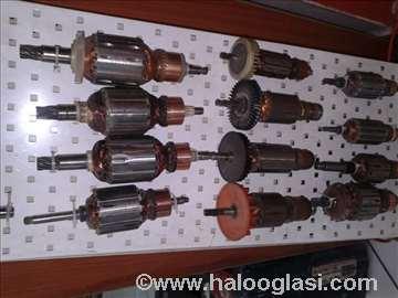 Rotori za el. alate