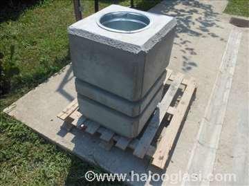 Betonska kanta za otpad