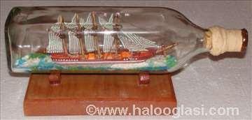 Elcano - stari jedrenjak u boci