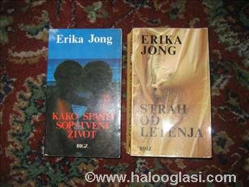 Knjige Erika Jong 2 komada