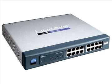 Linksys SR216 10/100 16 ports