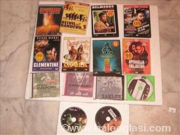 14 DVD  filmova