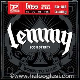 Bas Lemmy Motorhead Signature