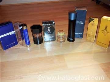 Prazne bočice original parfema, Paco R. Armani,YSL