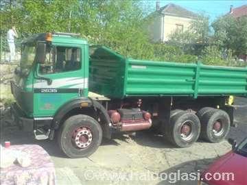 Prevoz kamionima kiperima od 3 do 10m3