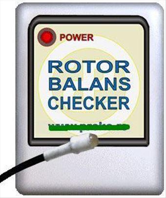 Elektronika za balansiranje rotora