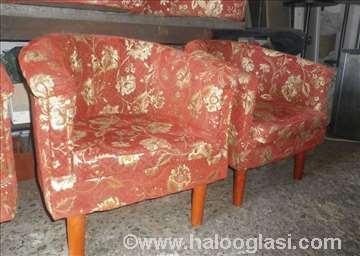 Fotelje, šank i klub stolovi, razni nameštaj