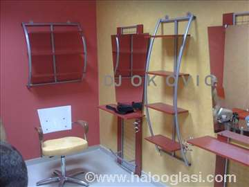 Oprema za frizerski salon, nova