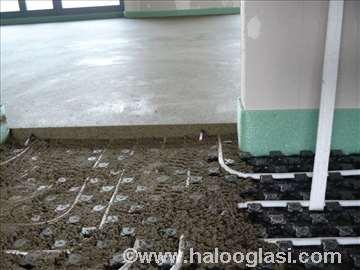 Mašinska cementna košuljica ravnajući sloj