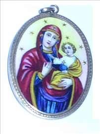 Medaljon, Marija i Isus