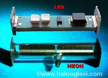 LED strobo svetlo za Dual gramofone