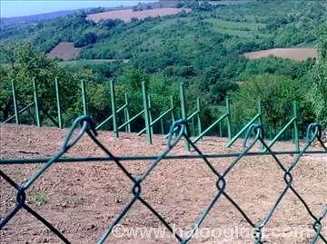 Ograde žica stubovi
