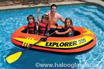 Čamac Explorer sa veslima Intex model 58332