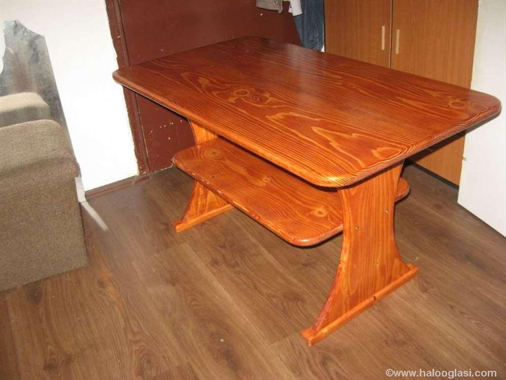 Дрвени сто | Halo Oglasi