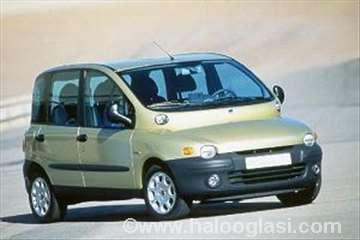 Fiat Multipla,   Patosnice tepih