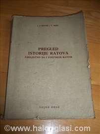 Pregled istorije ratova - Zaključno sa I svetskim