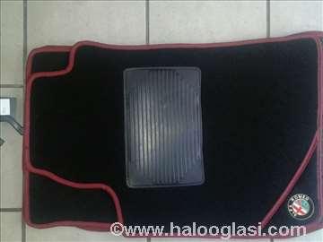 Alfa Romeo 159,   Patosnice tepih