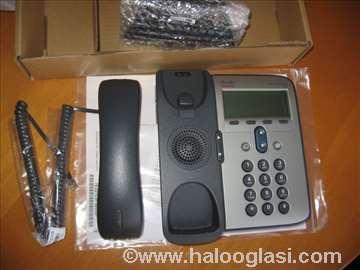 IP Phone Cisco, nov, sa trafoom, nije korišćen