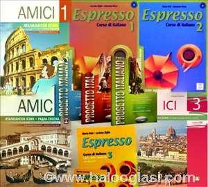Udžbenici knjige-ruski, italijanski, španski