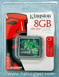 Kingston Compact Flash - CF memor. kartica - 8GB