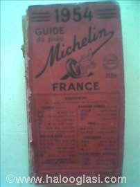 Guide du pneu Michelin, France.