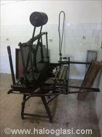 Mašina za izradu korneta dvojka (dupla)