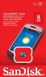 SanDisc Micro SDHC  class 4 8GB