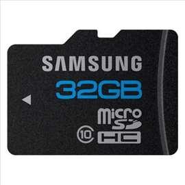 32GB Samsung klasa 10 najbolji kvalitet