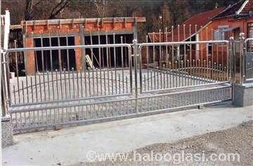 Inox (prohrom) gelenderi i ograde
