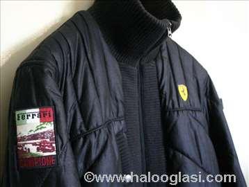 Ferrari,original muška crna zimska jakna