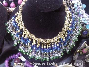 Unikatna kristalna ogrlica