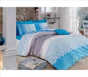 Shine plava posteljina
